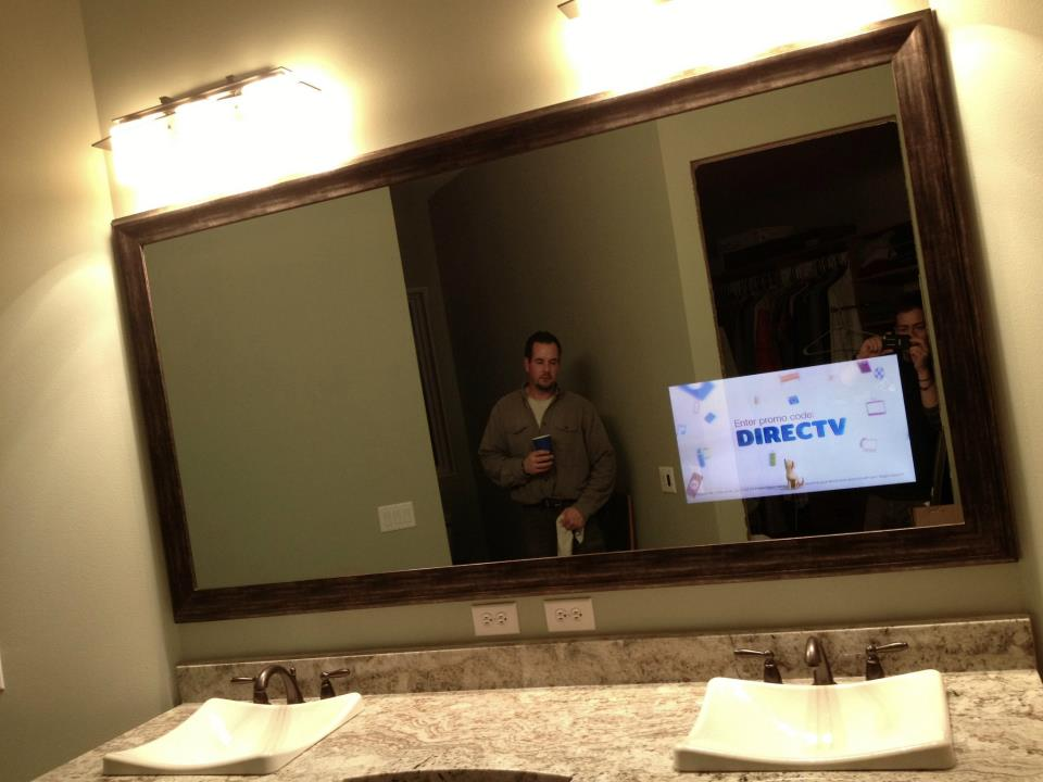 Bathroom Mirror With Tv tv mirror photo gallery