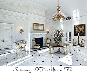 samsung led mirror tv